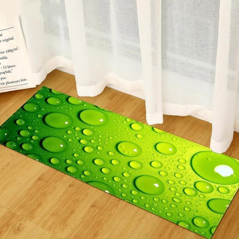 Tapis De Bain Antidérapant Vert