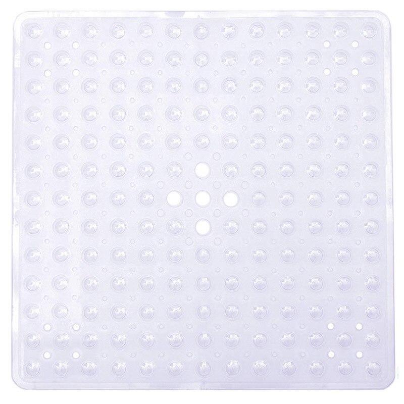 Tapis De Bain Carre Blanc