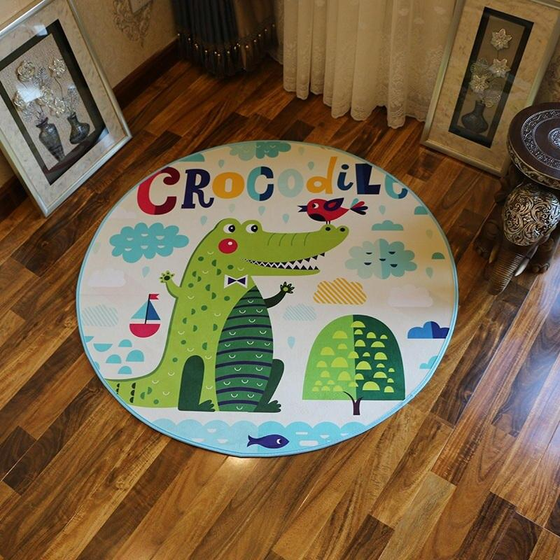 Tapis De Bain Crocodile