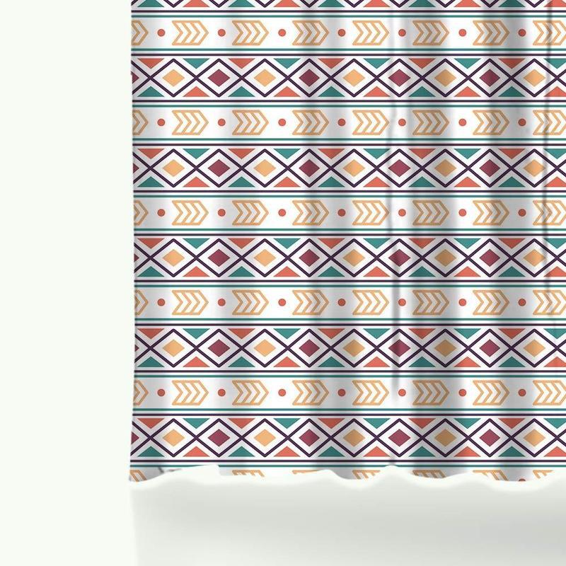 Tapis De Bain Graphique