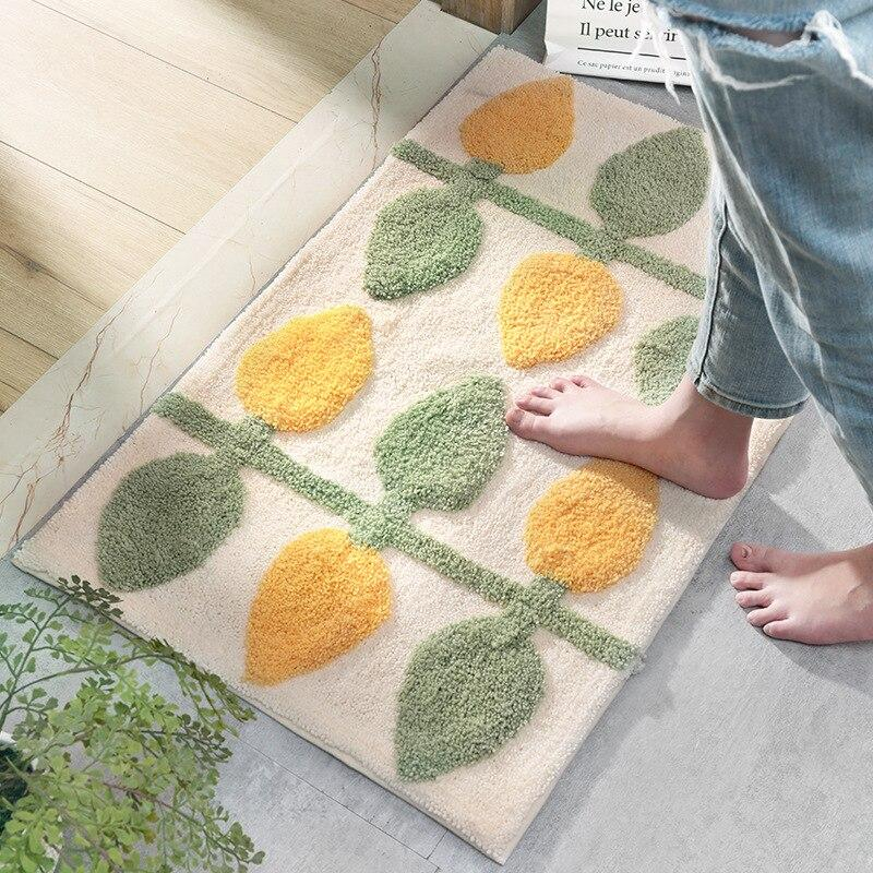 Tapis De Bain Japonais En Algues