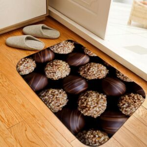 Tapis De Bain Marron Chocolat