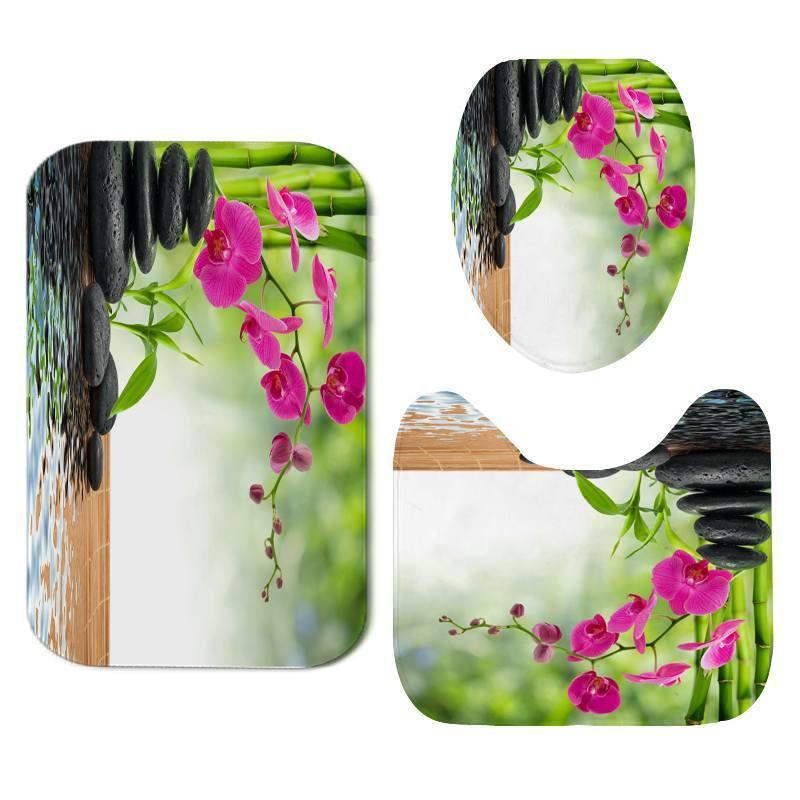Tapis De Bain Orchidee