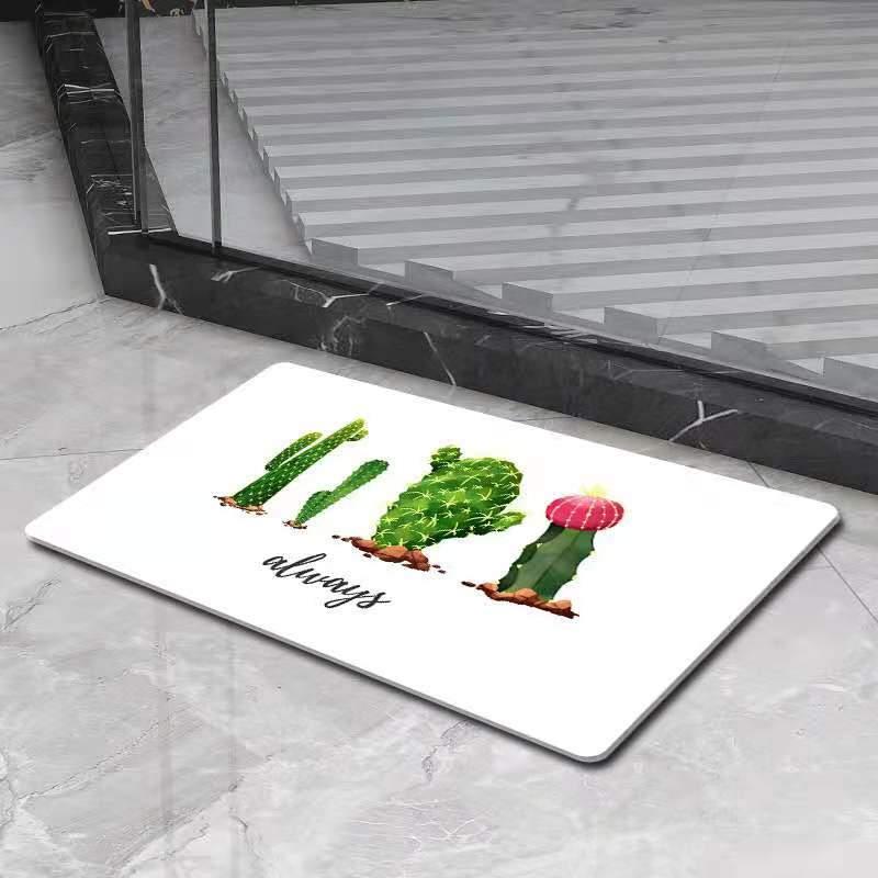 Tapis De Bain Rigide Algue