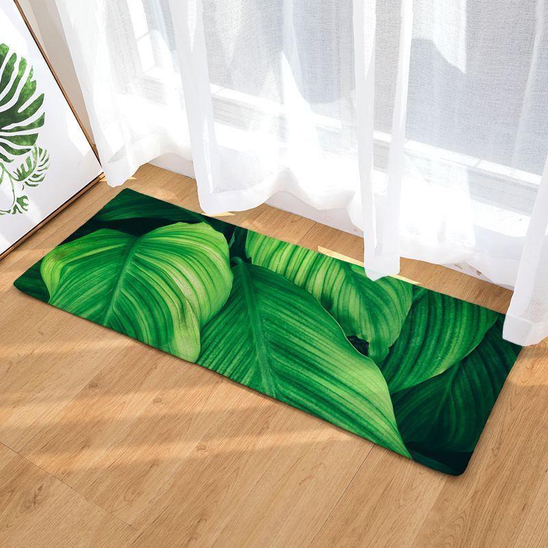 Tapis Salle De Bain Vert D'Eau